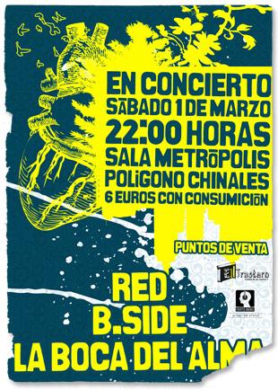 Cartel Concierto B.Side