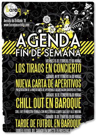 Baroque Agenda Fin de Semana