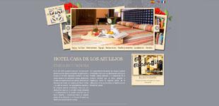 Página web www.casadelosazulejos.com