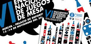 Cartel VI Encuentro Nacional de Juegos de Mesa