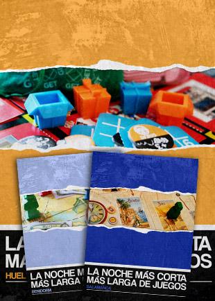 Cartelería La Noche Más Corta Más Larga de Juegos 2011