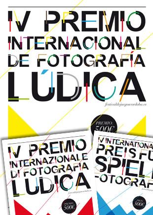 Cartel IV Premio Internacional de Fotografía Lúdica